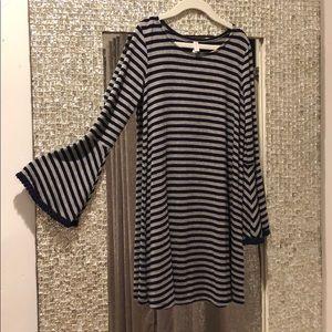 French cut girl dress